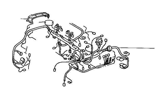 toyota celica protector  wiring harness  no  2  wire